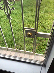 Having a dead-bolt lock on a window is considered a fire safety hazard.  Some banks will not approve a mortgage loan if this is present in a house.